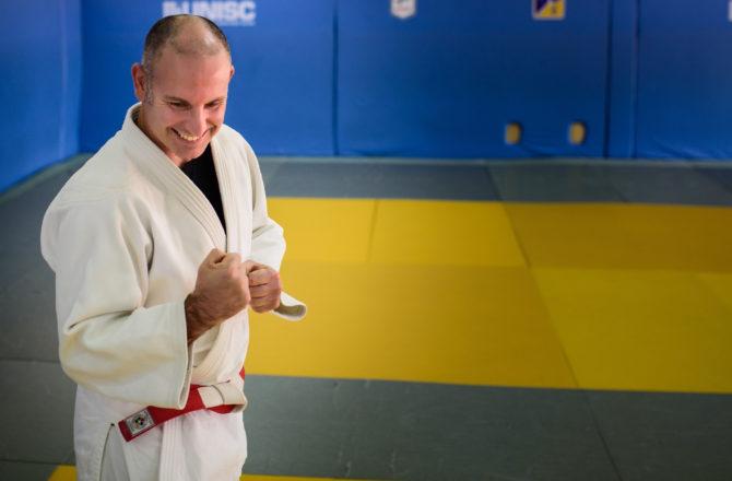 Como judoca